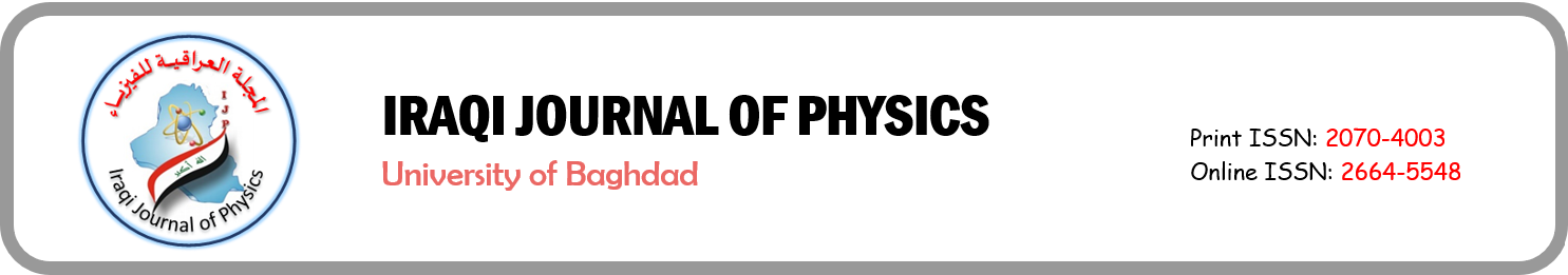 Iraqi Journal of Physics (IJP)
